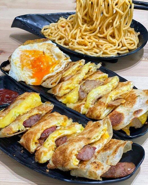 【台北美食】谷爹G'day,台北通化夜市的早餐蛋餅!