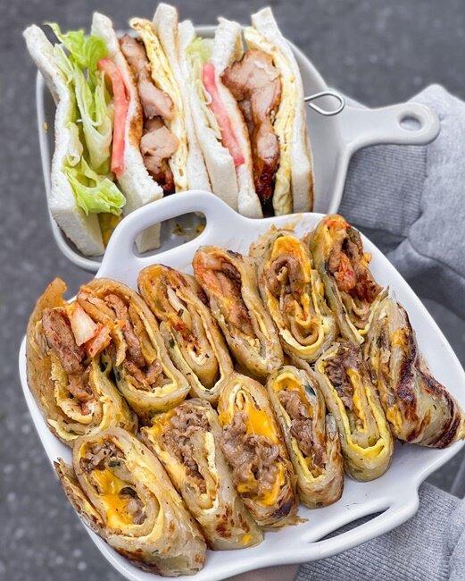 【台北美食】好遞食-肉蛋炭烤三明治(創始店) 早午餐 通化夜市 捷運信義安和站