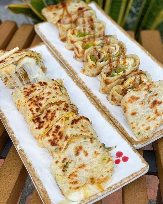 【台中美食】半早手作蛋餅 早午餐 手工餅皮 台中柳川 每日限定