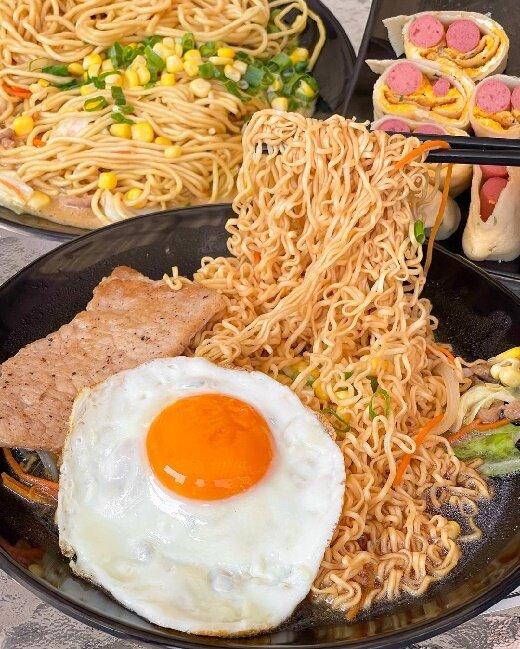 【台中美食】GA U x Brunch早午餐加油站|早午餐|炒泡麵|台中西區|