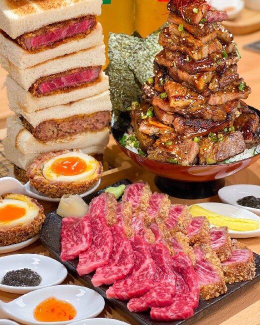 【台中美食】嵐山熟成牛專賣店 炸牛排 和牛漢堡