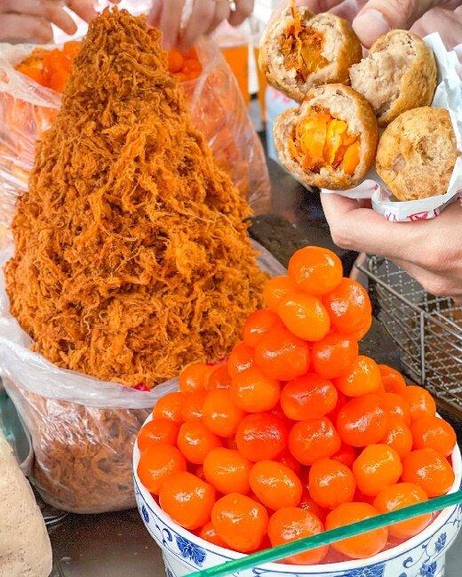 【台北美食】劉芋仔蛋黃芋餅 寧夏夜市 捷運雙連站 大同區美食