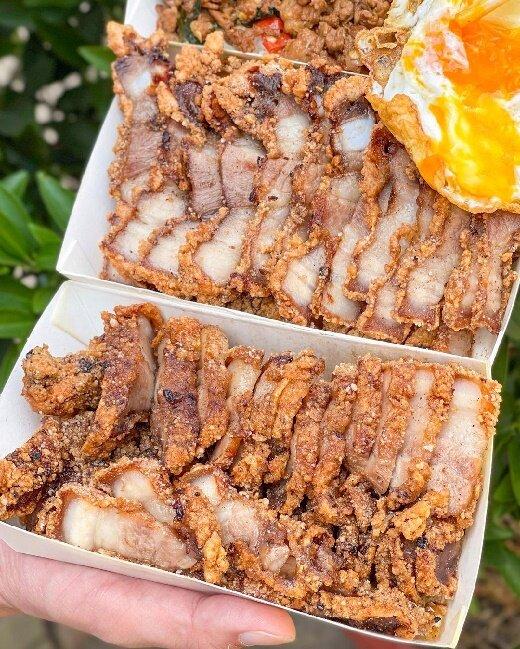 【台南美食】台南無名便當店 饌豚食品 安南區美食 酥炸叉燒肉