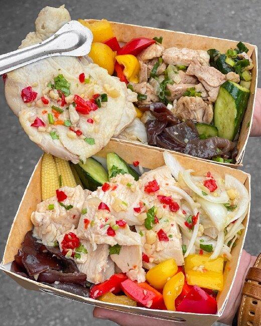 【桃園美食】健人鹹水雞 內壢車站旁 健身最好的食物