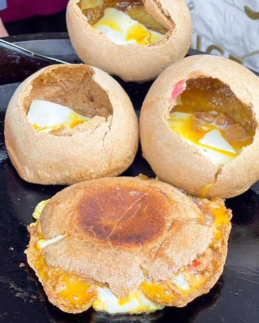 【台南美食】榮家班 麻油椪餅煎蛋 月內餅 傳統美食 台南武廟