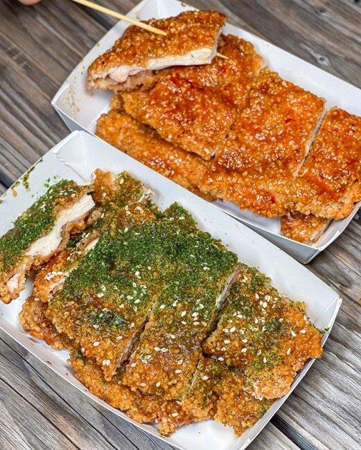 【台中美食】紐奧良燒烤雞排 旱溪夜市 夜市美食 夜市小吃