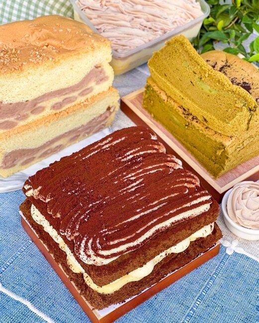 【高雄美食】豆逗無油蛋糕舖 豆漿製成的無油蛋糕 健康無負擔