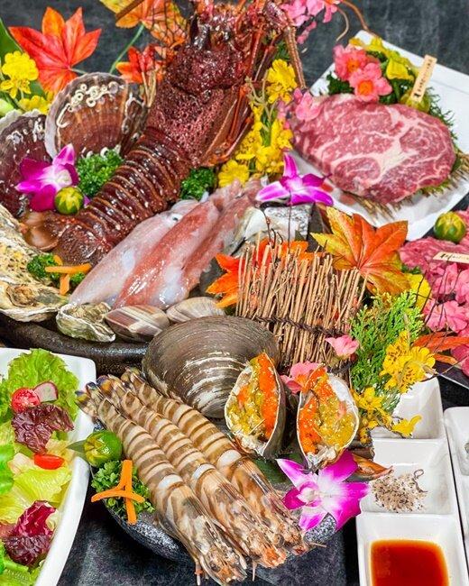 【高雄美食】明燒肉 現撈現宰活體海鮮!頂級的海鮮在這裡!