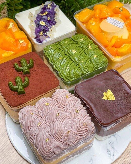 【台中美食】Siang Hao Pâtisserie · 法式甜點 台中甜點 盒子甜點