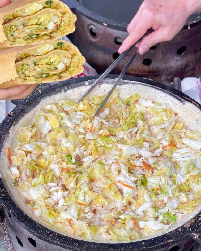 【台中美食】順口香麥仔煎  古早味小吃  台中第三市場