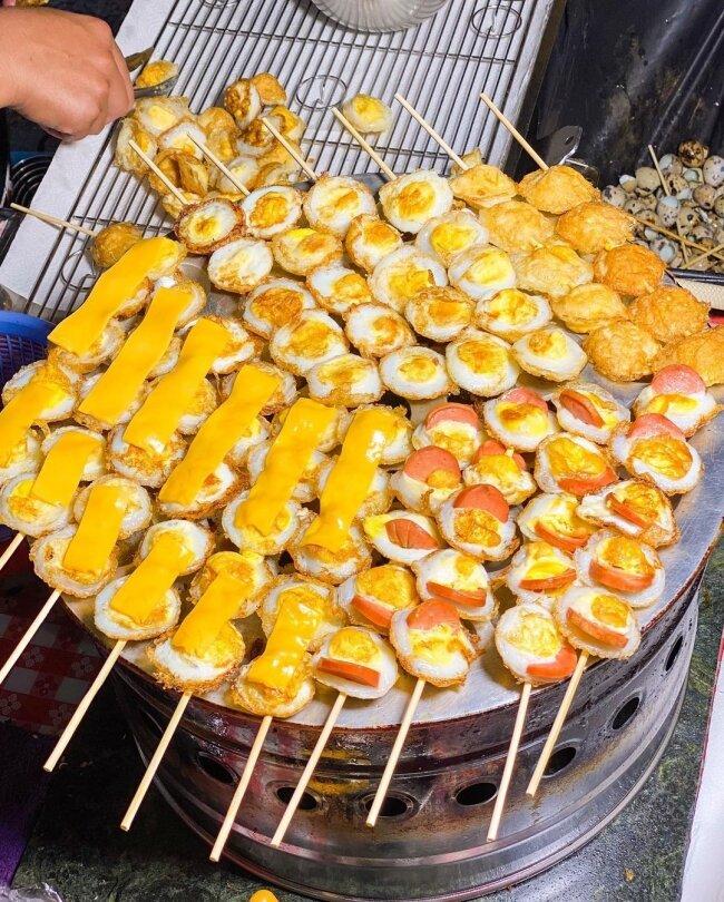 【台南美食】三代香酥鳥蛋  台南花園夜市 台南小吃