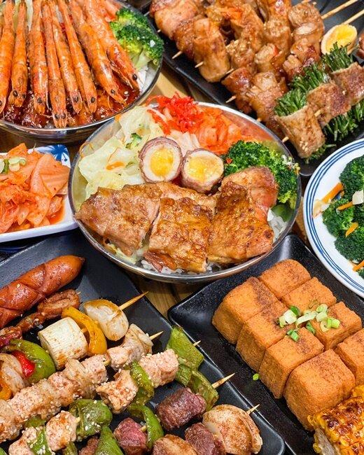 【台中美食】夜燒碳烤 宵夜美食 外帶正餐