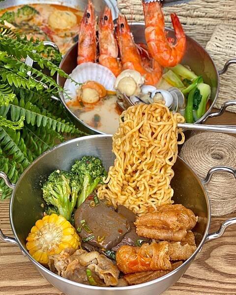 【幹麻?豚骨麻辣燙】日式豚骨湯底作成的麻辣湯