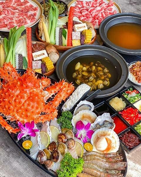 【嗑肉石鍋】肉食者天堂|帝王蟹情人節套餐