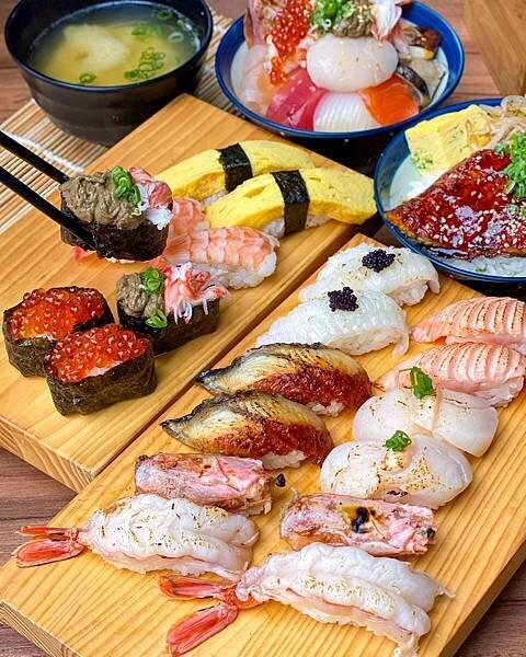 【魚多甜輔大店】均一價40元|cp值最高的壽司店
